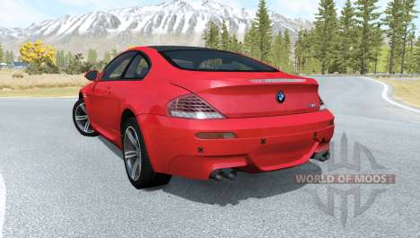 BMW M6 Coupe (E63) 2010 для BeamNG Drive