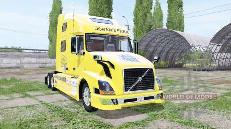 Volvo VNL 780 JoranS Farm для Farming Simulator 2017
