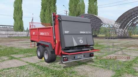SIP Orion 120 TH v1.3 для Farming Simulator 2017