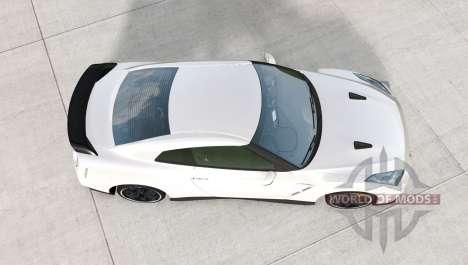 Nissan GT-R Egoist (R35) 2011 для BeamNG Drive