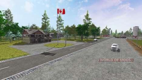 Canadian National для Farming Simulator 2017