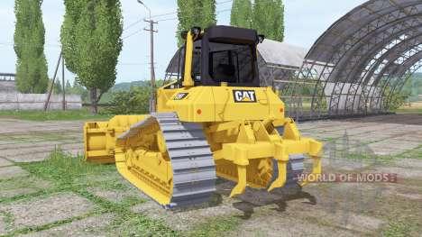Caterpillar D6N LGP v3.0.0.1 для Farming Simulator 2017