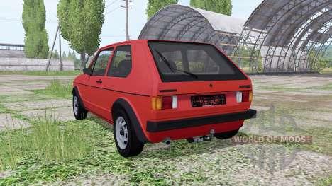 Volkswagen Golf GTI (Typ 17) 1976 для Farming Simulator 2017
