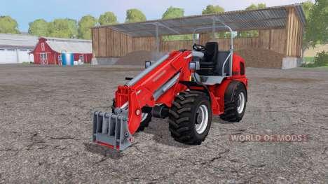 Weidemann 4270 CX 100T v3.0 для Farming Simulator 2015