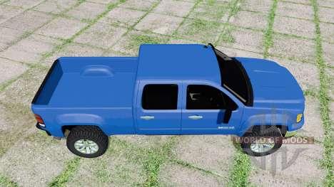 GMC Sierra 2500 HD Crew Cab 2010 v1.2 для Farming Simulator 2017