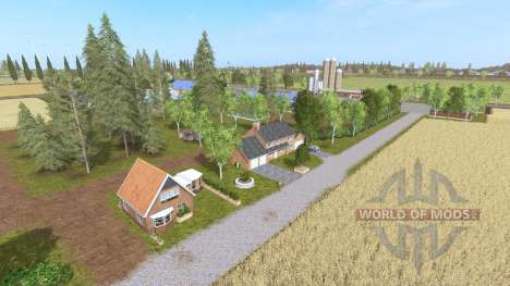 Frisian march v1.9 для Farming Simulator 2017
