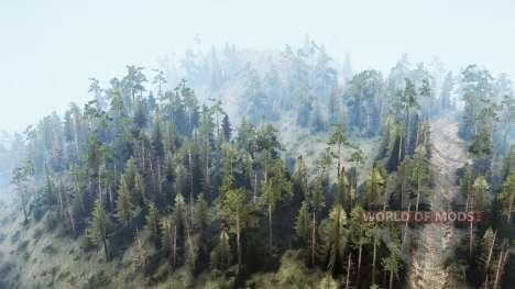 Bancroft Backwood для Spintires MudRunner