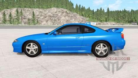 Nissan Silvia Spec-R Aero (GF-S15) 1999 для BeamNG Drive