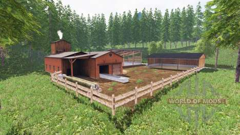 Bergmoor для Farming Simulator 2015