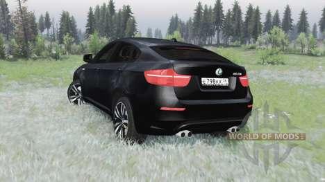 BMW X6 M (E71) для Spin Tires