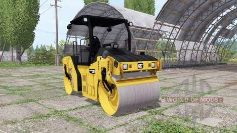 Caterpillar CB44B для Farming Simulator 2017