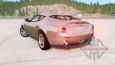 Aston Martin DB7 Zagato 2003 для BeamNG Drive