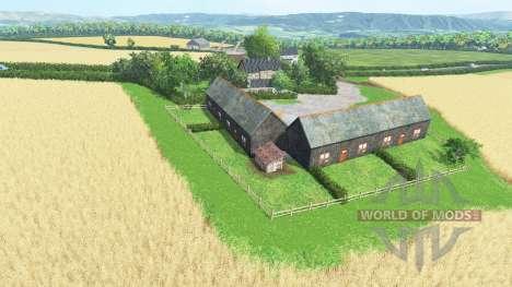 Coldborough Farm для Farming Simulator 2015