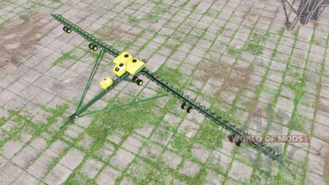 John Deere DB120 для Farming Simulator 2017