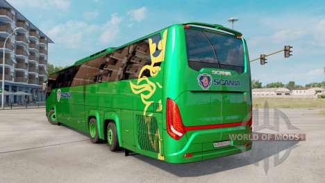 Scania Touring K410 для Euro Truck Simulator 2