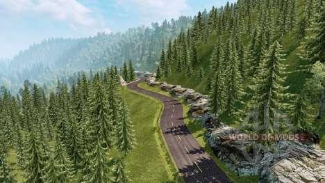 Пейзажи Южной Америки v2.1 для Euro Truck Simulator 2