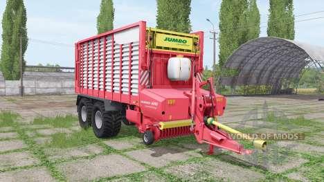 POTTINGER JUMBO 6010 combiline для Farming Simulator 2017