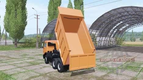 КАМАЗ 65115 v3.1 для Farming Simulator 2017