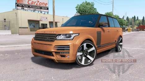 Land Rover Range Rover Vogue STARTECH v2.0 для American Truck Simulator