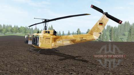 Bell UH-1D Iroquois для Farming Simulator 2017