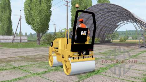 Caterpillar CB32 для Farming Simulator 2017