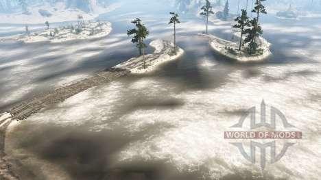 Level 76 - Sandy Beaches для Spintires MudRunner