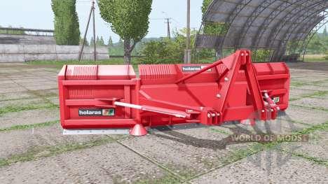 Holaras M.E.S. 500 v2.1.1 для Farming Simulator 2017