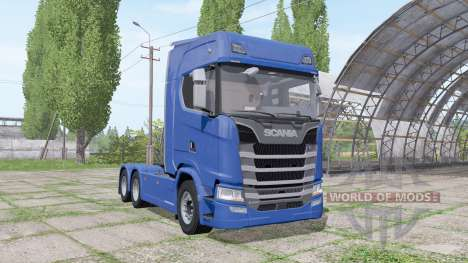 Scania S 480 3 axle для Farming Simulator 2017