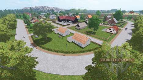 Hochebene Lindenthal v1.1 для Farming Simulator 2017