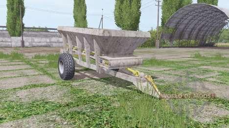 UNIA RCW 3000 для Farming Simulator 2017