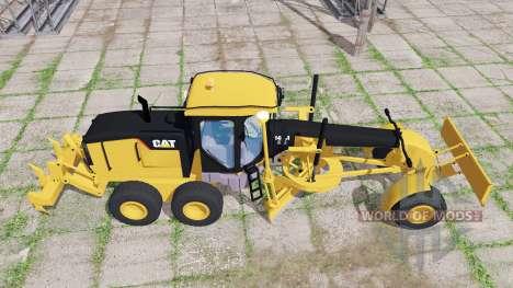 Caterpillar 140M  v1.0 для Farming Simulator 2017