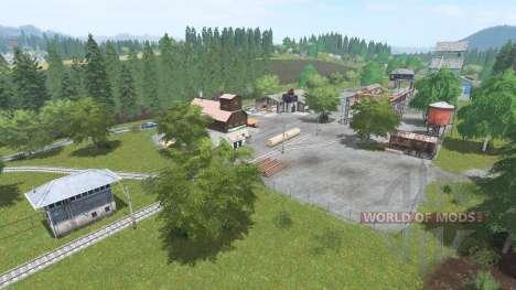 Танненберг v1.1 для Farming Simulator 2017