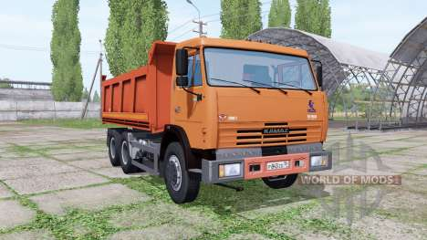 КАМАЗ 65115 для Farming Simulator 2017