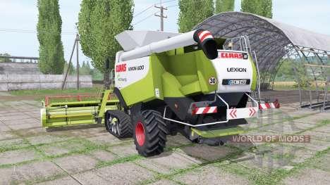 CLAAS Lexion 600 TerraTrac v2.0 для Farming Simulator 2017