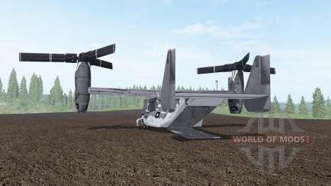 Bell V-22 Osprey для Farming Simulator 2017