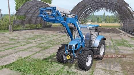 New Holland 750TL MSL v1.1 для Farming Simulator 2017