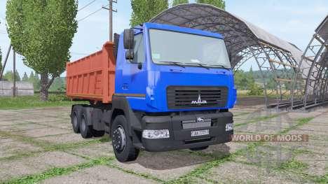 МАЗ 6501В9 для Farming Simulator 2017