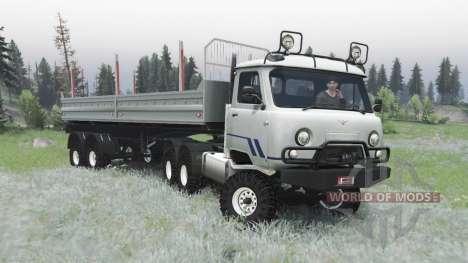 УАЗ 452ДГ для Spin Tires