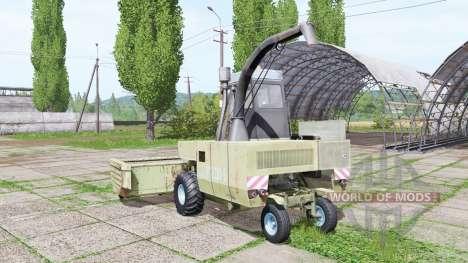 Fortschritt E 281-E v1.3 для Farming Simulator 2017