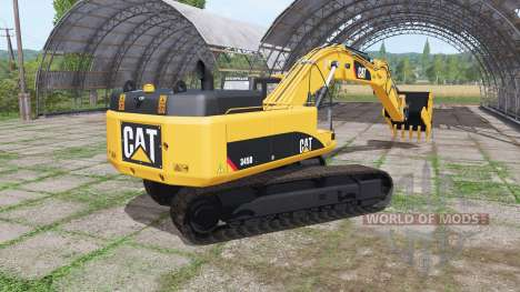 Caterpillar 345D L для Farming Simulator 2017