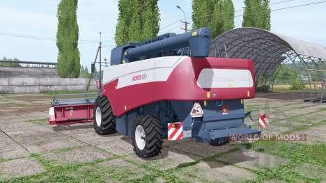 Акрос 585 v1.0.0.5 для Farming Simulator 2017