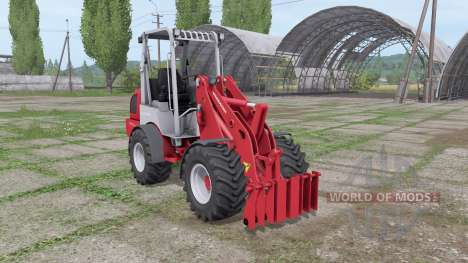 Weidemann 1770 CX 50 для Farming Simulator 2017