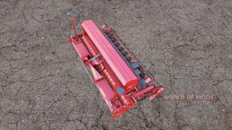 Kuhn Sitera 3000 wide для Farming Simulator 2015