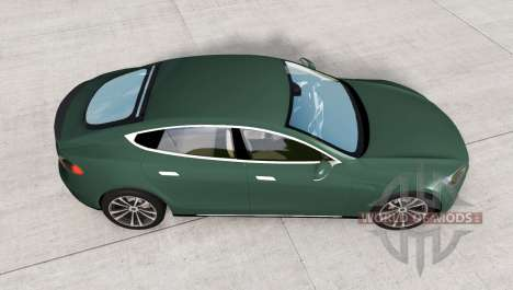 Tesla Model S для BeamNG Drive