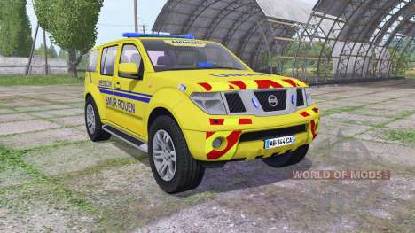 Nissan Pathfinder (R51) 2004 SAMU для Farming Simulator 2017