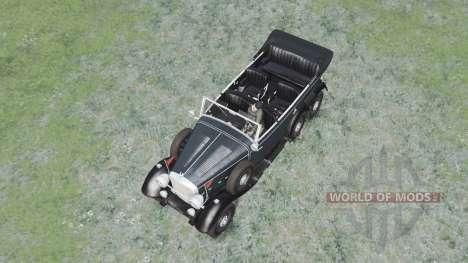 Mercedes-Benz G4 (W31) 1938 для Spin Tires