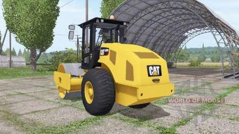 Caterpillar CS56B для Farming Simulator 2017