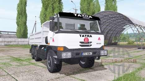 Tatra T815-280 S25 TerrNo1 1998 для Farming Simulator 2017