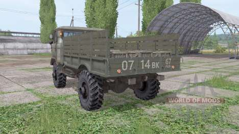 ГАЗ 66 v1.6 для Farming Simulator 2017