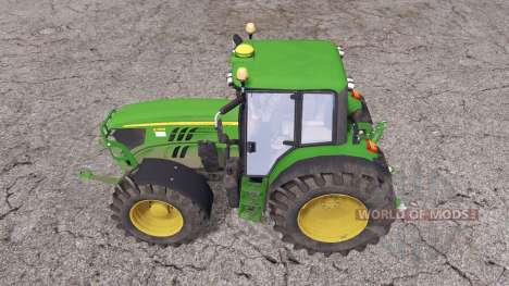 John Deere 6140M для Farming Simulator 2015